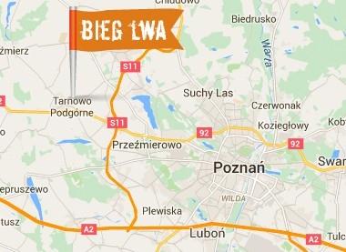 Lokalizacja biegu